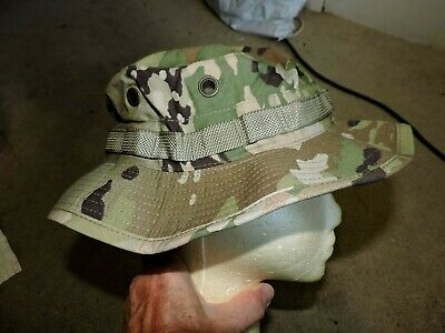 0cde2e69d33a Nwt New Military Army Multicam Boonie Sun Hat Cap Size 7 1/2 Hot Weather