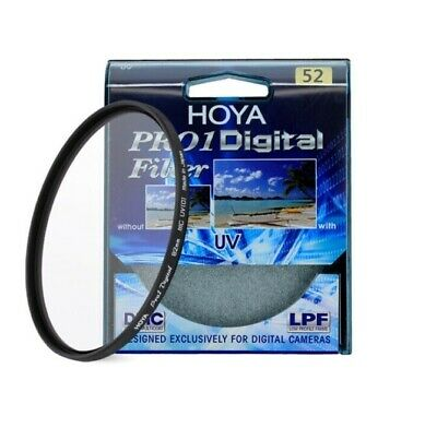 HOYA 52mm  Pro 1 Digital UV Camera Lens Filter Pro1 D Pro1D UV(O) DMC LPF filter