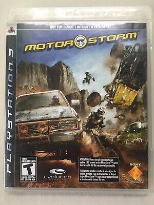 ~TESTED VG~ Sony Playstation 3 PS3 Motor Storm NOT FOR RESALE Fast Ship Canada
