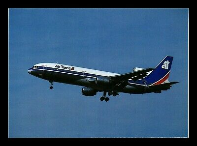 Dr Jim Stamps Air Trans At Airplane Transportation Continental Size Postcard