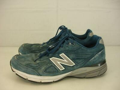 b56c3b1e04dcd Mens sz 11 D M New Balance 990v4 990 North Sea Blue Suede Running Shoes USA  Made
