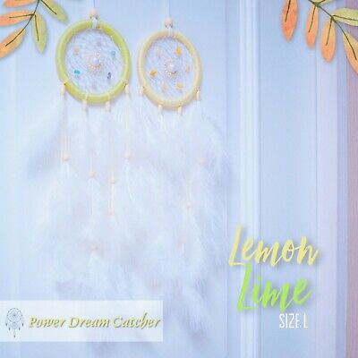 Owl Eyes Hoops Dream Catcher With Feathers Beads 1399 Picclick