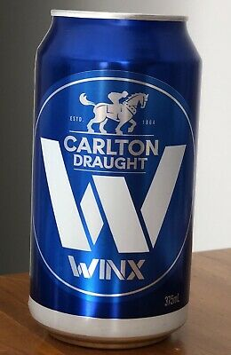 Winx Limited Edition Cox Plate beer can, Very Collectable
