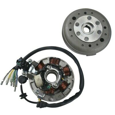 Racing Magneto Stator Rotor Ignition Coil Flywheel For 140cc Lifan Dirt Pit Bike
