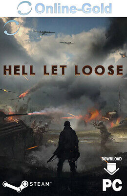 Hell Let Loose - Steam Game Key - PC Download Code Indie [Early Access] [DE/EU]