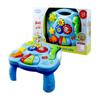 Baby Funny Toys Musical Learning Table Activity Center Game Toddler Infant Kids