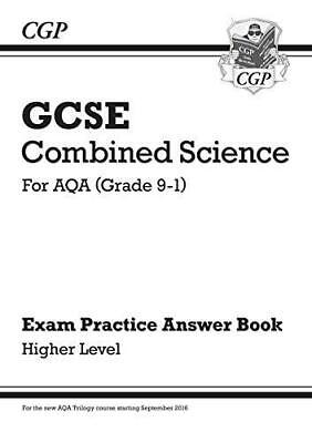New GCSE Combined Science: AQA Answers for Exam Practice Workbook - Higher by CG