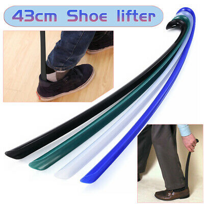 Durable Flexible Long Handle Shoehorn Shoe Horn Lifter Disability Aid Stick Tool