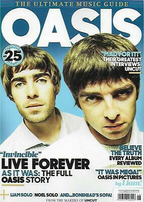 ULTIMATE MUSIC GUIDE MAGA FROM UNCUT- OASIS *Post included to UK/Europe/US