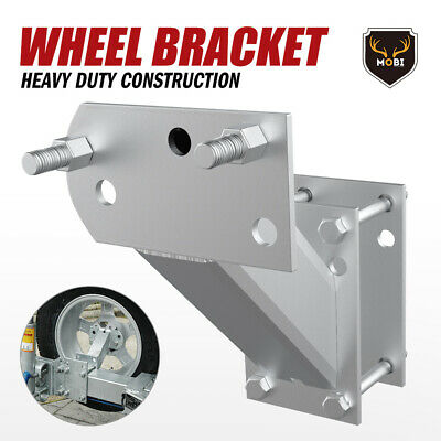 Spare Wheel Bracket Carrier Tyre Holder For Trailer Caravan Boat