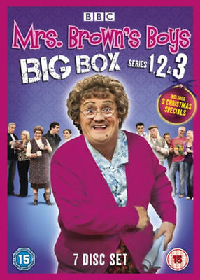 Mrs browns boys DVD box set 7 disc - Complete series 1, 2 and 3.  R2