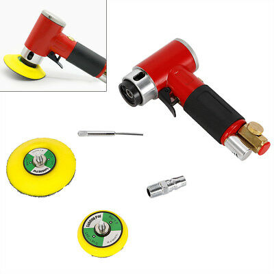 Professional 50mm Mini Air Sander Pneumatic Polisher Mix Sanding Discs Car Body