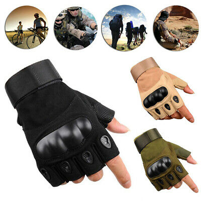 Tactical Military Wear Resistant Fingers Gloves For Shooting Bicycle Hiking Cool