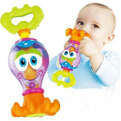 Floating Bath Play Cute Toys Baby Octopus Kids Infant Toddlers Learn Fun CB