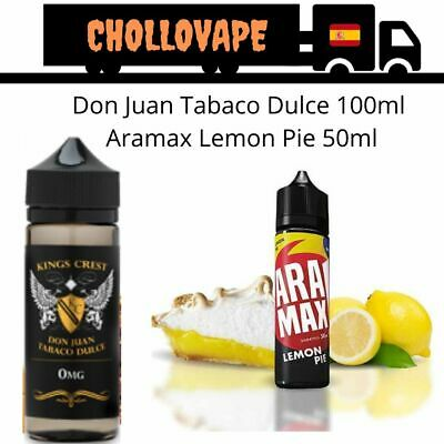 Pack Don Juan Tabaco Rubio 100ml + Liquido de Natillas Cremosas 50ml