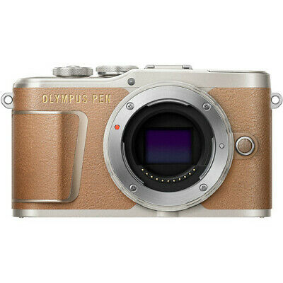 Olympus PEN E-PL9 Mirrorless Micro Four Thirds Digital Camera (Body Only,Brown)