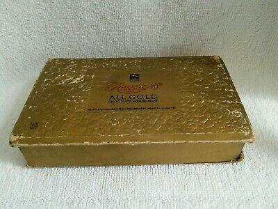 Vintage Terry's Of York All Gold Chocolate Assortment Collectors Box