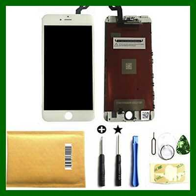 "White Iphone 6S Plus 5.5"" LCD Display Touch Screen Digitizer Assembly Replacemen"