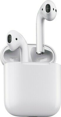Apple AirPods In-Ear Wireless Bluetooth Headsets with Case MMEF2AM