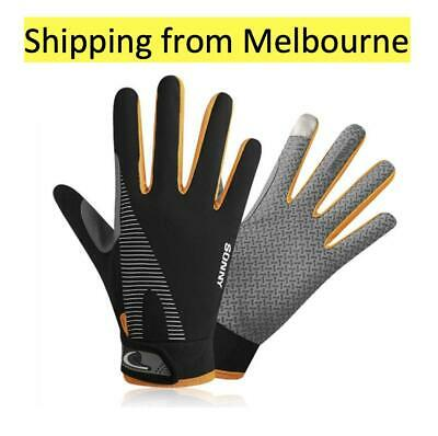 Bike glove full finger cycling gloves touch screen spring Breathable windproof