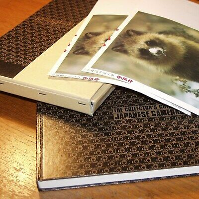 The Collector's Guide to Japanese Cameras 1845-1984 SIGNED 314 pages 1st Edition
