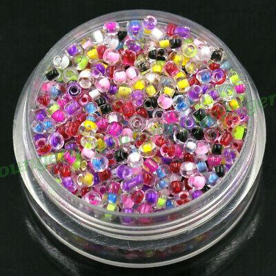 Wholesale 1000/2000 Czech Glass Seed Beads Bead Spacer 2mm 3mm 12/0 8/0