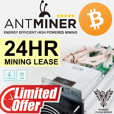 BITCOIN CLOUD MINING Contract 15 5 TH/s 24 Hours - $12 49 | PicClick