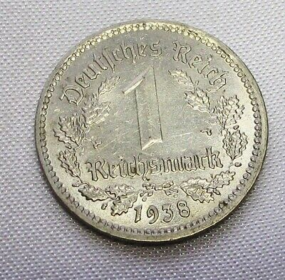 Deutsches Reich 1 Reichsmark 1938 Nickel, Eagle