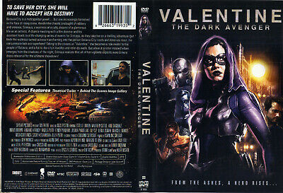 Valentine: The Dark Avenger DVD Widescreen Free Ship #0619DMJ