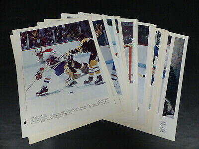 1973-74 Dernière Heure Montreal Canadiens Photo Lot Of 22