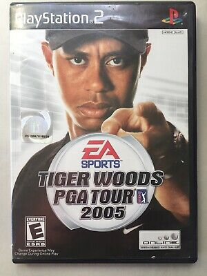 ~TESTED Good~ Sony Playstation 2 PS2 Tiger Woods PGA Tour 2005 Fast Ship Canada