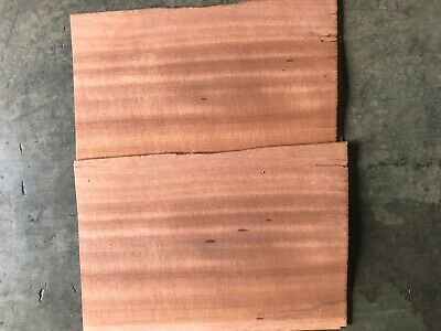1/16 Thick Cut Mahogany Wood Veneer. 11 x 15.5, 12 Sheets.