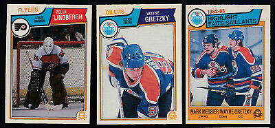 1983-84 O-Pee-Chee Hockey Card Full Set 396/396