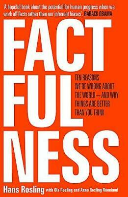 Factfulness by Hans Rosling and Ola Rosling Paperback NEW Book
