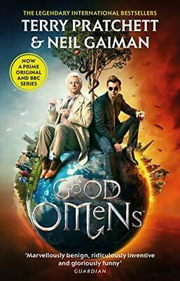 Good Omens by Neil Gaiman and Terry Pratchett Paperback NEW Book