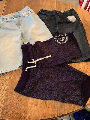 3 Pairs Of Boys Longline Shorts