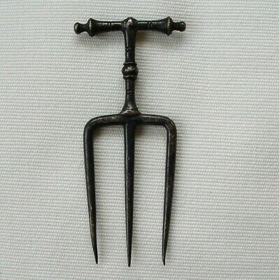 Antique Bread Fork Victorian Silver Plated