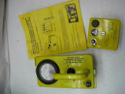 Victoreen CDV-715 Radiological Survey Meter Geiger Counter & Dosimeter Charger