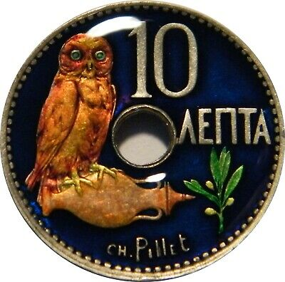 WCA Enamelled 10 Lepta 1912 Greece