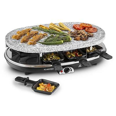[Occasion] Appareil Klarstein Raclette Pierre Naturelle Barbecue 8 Pers Grill
