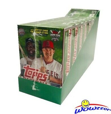 2019 Topps Series 2 Baseball EXCLUSIVE Hanger Case-8 HUGE Factory Sealed Boxes!