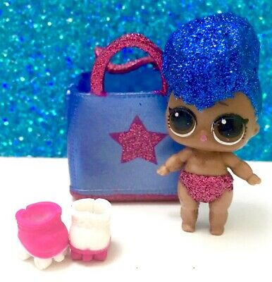 LOL Surprise Lil Independent Queen Doll Confetti Pop Independence Gold Ball Rare
