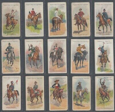 Cigarette Card Set John Player & Sons, Riders Of The World 1905 (Id:985/Ar290)