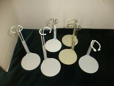 Doll Stands Holders Metal Several Sizes Kaiser LOT of Six
