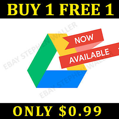 🔥[1+1] Google Drive Unlimited Lifetime Storage Not Edu - Buy 1 & Get 1 Free🔥