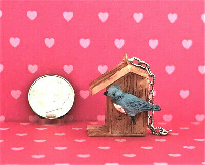 Red #IM65621 Dollhouse Miniatures 1:12 Scale Humming Bird Feeder