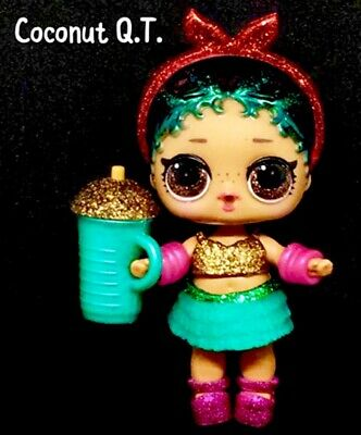 LOL Surprise! Coconut QT Cutie Glam Glitter Series2 Doll Ball Authentic Complete