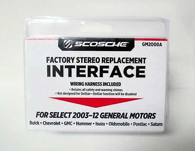 SCOSCHE 2005-14 FORD Stereo Replacement Interface FD5000