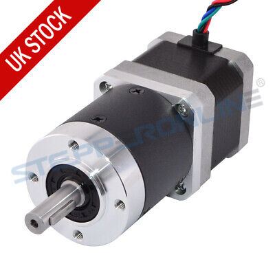 Nema 17 Geared Stepper Motor 20:1 High Precision Planetary Gearbox 1.68A 4 Wires