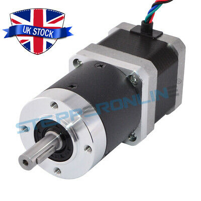 Nema 17 Geared Stepper Motor 50:1 High Precision Planetary Gearbox 1.68A 4 Wires